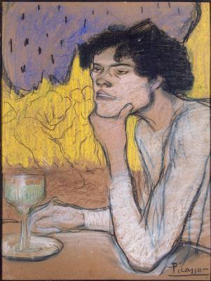 Pablo Picasso. Absinthe
