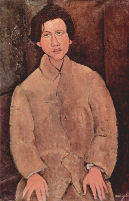 Amedeo Modigliani. Portrait Of Chaim Soutine