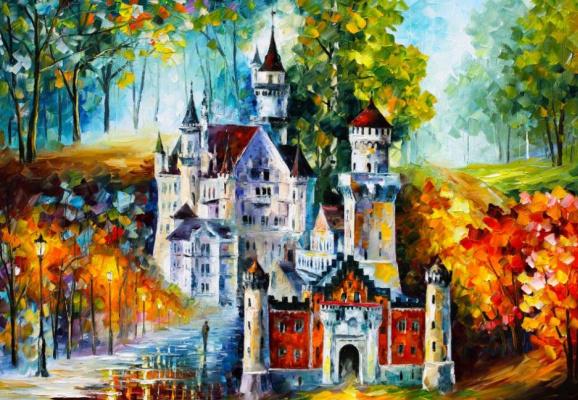 Leonid Afremov. Castle