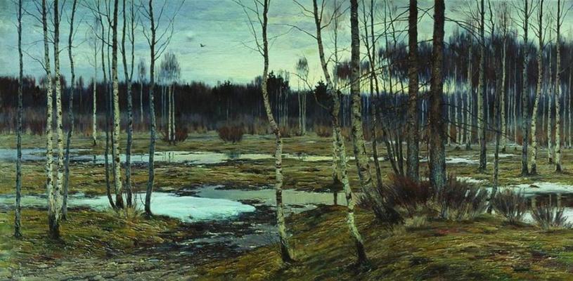 Ричард Александрович Берггольц. Пробуждение весны