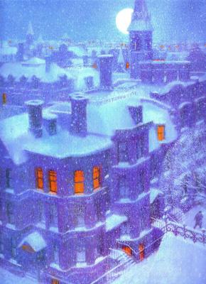 Климент Мур. Ночь перед Рождеством