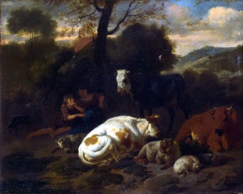 Дирк ван Берген. Пейзаж