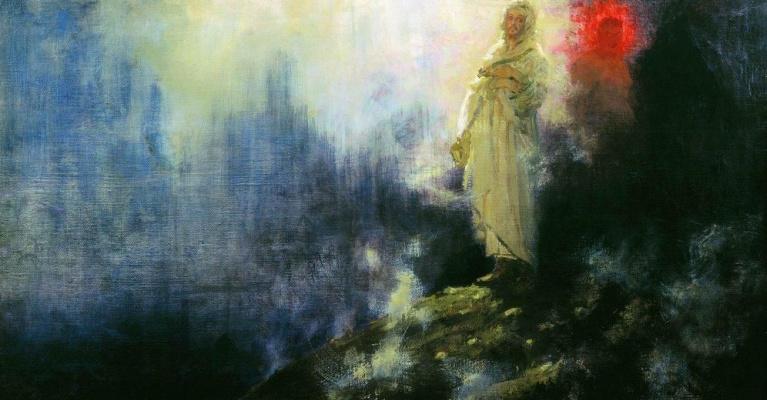Ilya Efimovich Repin. Follow me, Satan