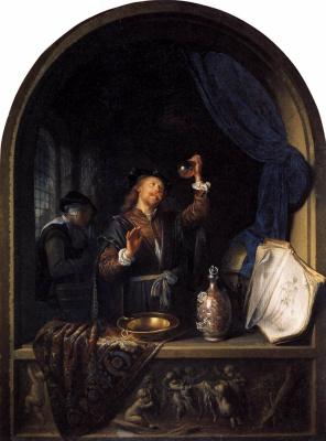 Gerrit (Gerard) Dow. Medic