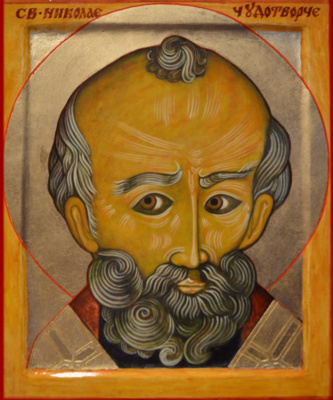 Egor Mountain. Saint Nicholas the Wonderworker