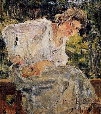 Николай Иванович Фешин. Портрет молодой женщины (Натальи Подбельской)