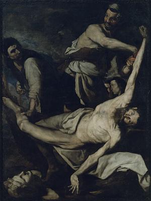 Jose de Ribera. Martyrdom of Saint Bartholomew