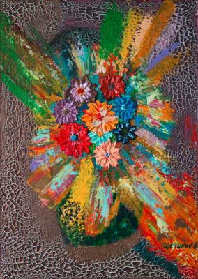Vladimir Schetinin. Flower blast