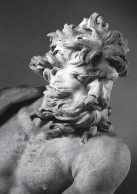 Gian Lorenzo Bernini. Neptune and Triton (detail)