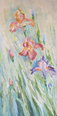 Tatyana Nikolaevna Antonova. Irises