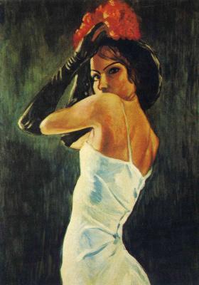 Francis Picabia. Seductive brunette