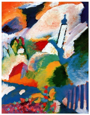 Wassily Kandinsky. The Church in Murnau
