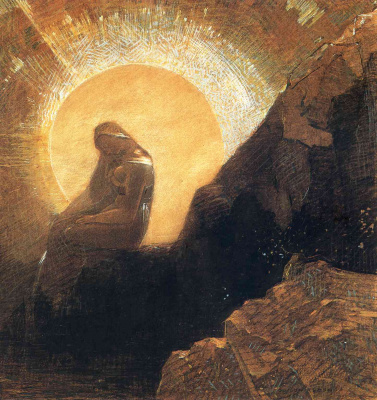 Odilon Redon. Melancholy
