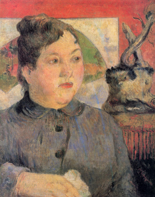 Paul Gauguin. Portrait of Madame Alexandra Kohler