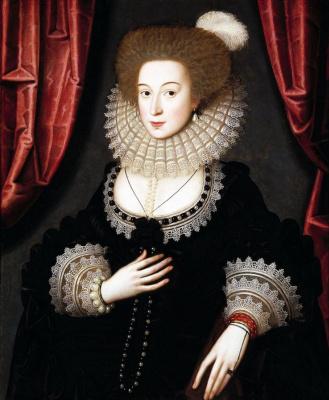 William Larkin. Portrait Of Maria Radcliffe