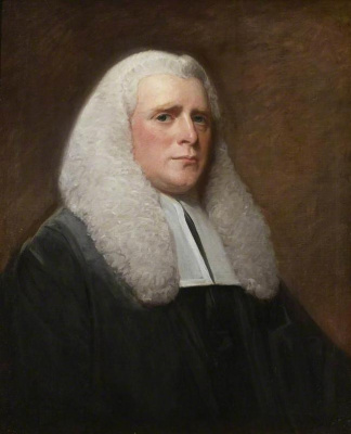 George Romney. Portrait of judge Seurat George Wilson
