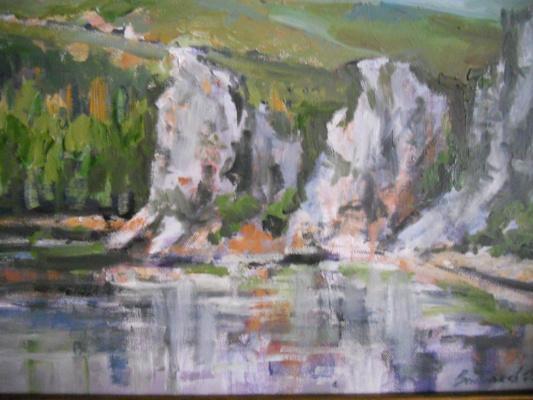Edward Rudolfovich Votyakov. Altai. White stones.