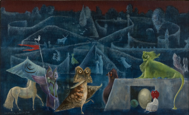 Leonora Carrington. Heavy breathing.