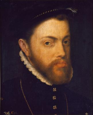 Антонис ван Дасхорст Мор. Король Филипп II