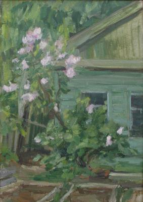 Urii Parchaikin. The lilac Bush
