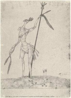 Paul Klee. Aging Phoenix