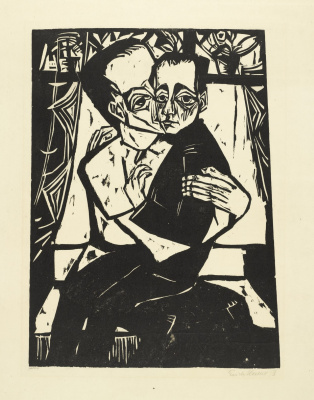Erich Heckel. Brothers