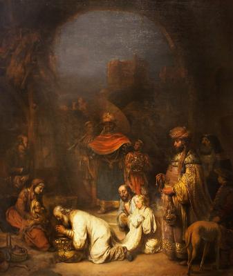 Гербранд Янс ван ден Экхаут. Поклонение волхвов