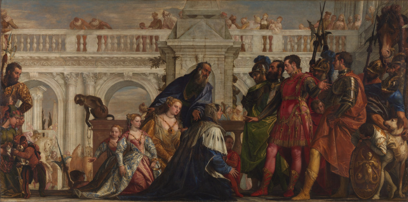 Paolo Veronese. Family of Darius in front of Alexander the Great