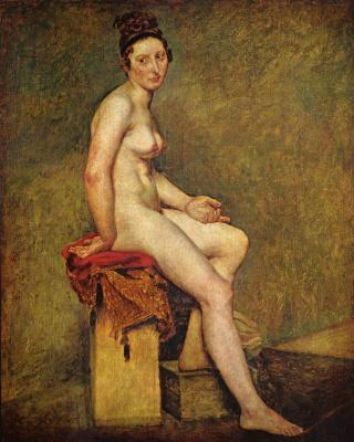 Eugene Delacroix. Mademoiselle Rose