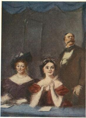 "Konstantin Ivanovich Rudakov. Illustration to the novel of I. S. Turgenev's ""noble nest"""