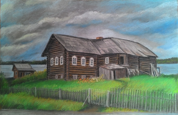 Irina Soboleva. Old house
