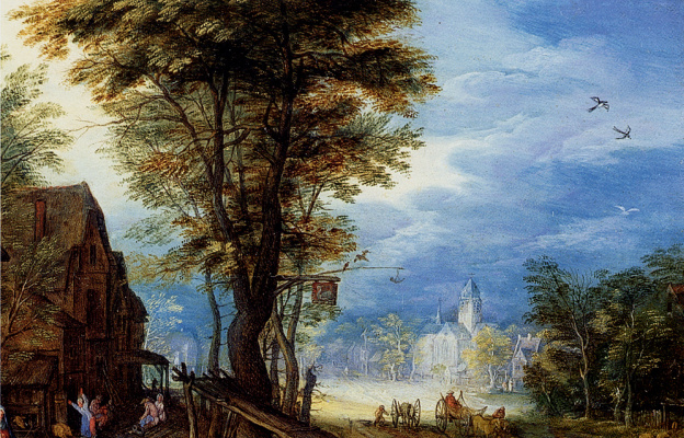 Jan Bruegel The Elder. Blue sky