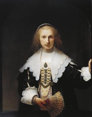 Rembrandt Harmenszoon van Rijn. Portrait Of Agatha Bas