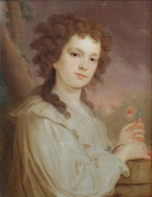 Vladimir Lukich Borovikovsky. Portrait Of O. K. Filippova