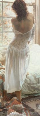 Steve Hanks. White lace