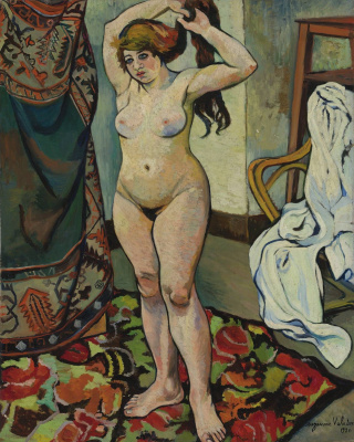 Suzanne Valadon. Gilberte Nude Styling Hair