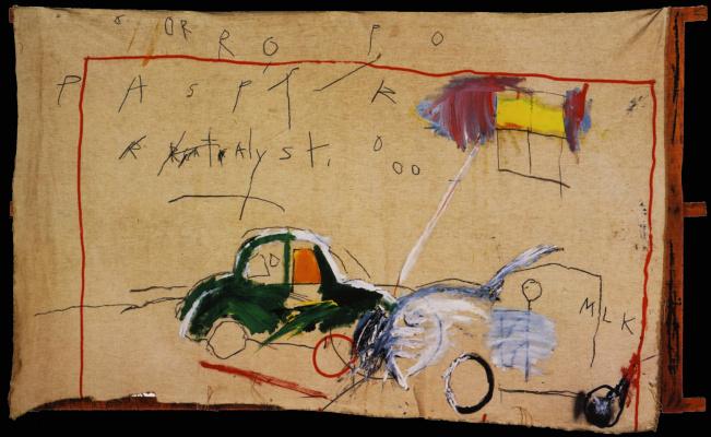 Jean-Michel Basquiat. Untitled (Car)