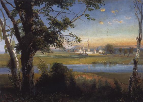 Alexey The Kondratyevich Savrasov. Novodevichy convent