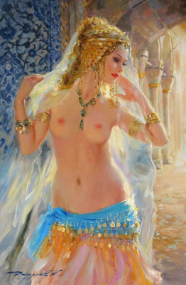Constantine Razumov. Eastern beauty.