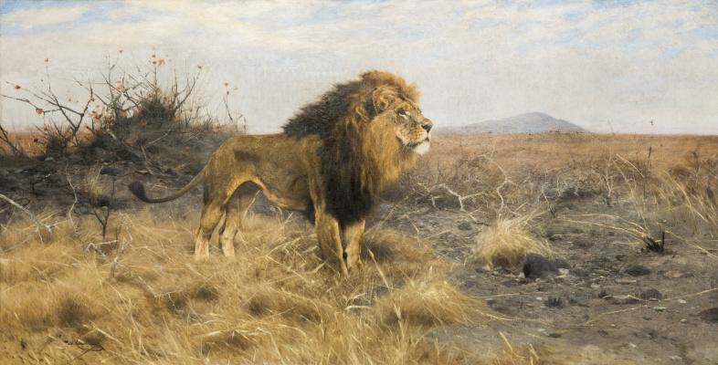Friedrich Wilhelm Kunert. Lion