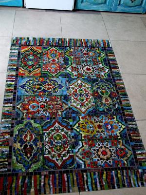 Constantine Socks. Mosaic carpet