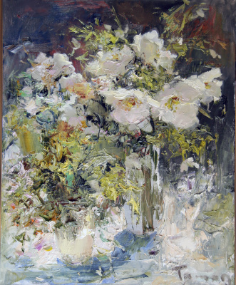 Tuman Art Gallery Tumana Zhumabayeva. Double bouquet