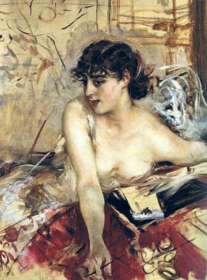 Джованни Больдини. Утреннее письмо. 1884
