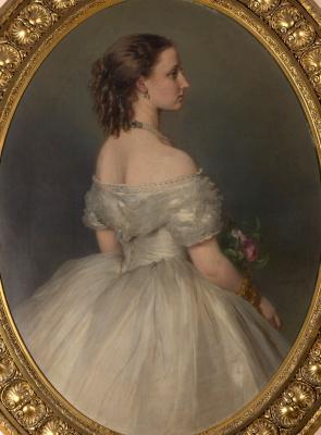 Franz Xaver Winterhalter. Princess Louise, later Duchess Rogalska