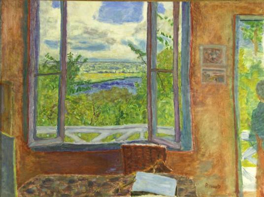 Открытое окно с видом на Сену (Вернон)