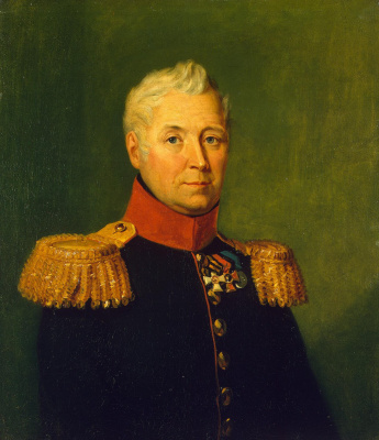 George Dow. Portrait Of Andrey T. Maslov