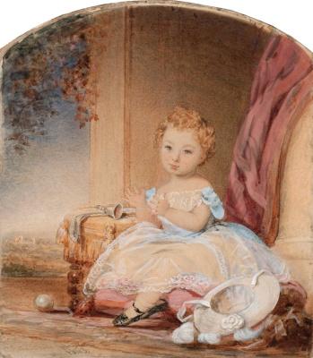 Портрет девушки. 1843