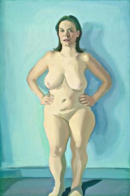 Maria Lassnig. Iris Standing