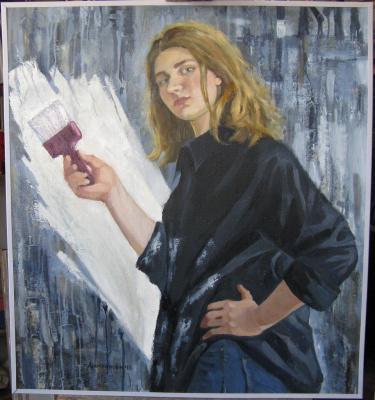 Ирина Александровна Аросланова. «Стрит-арт. Меньше цвета.»