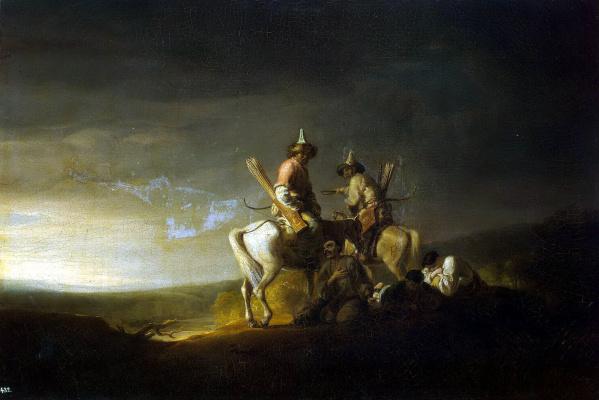 William Allan. Bashkirs